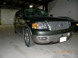 Ford Expedition After Repair Dells Baraboo Auto Body